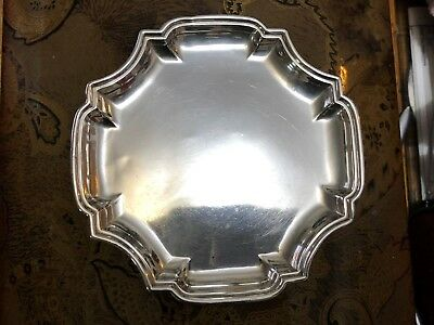 Vintage Sterling Trinket Tray - William Comyns & Sons - London - 1907
