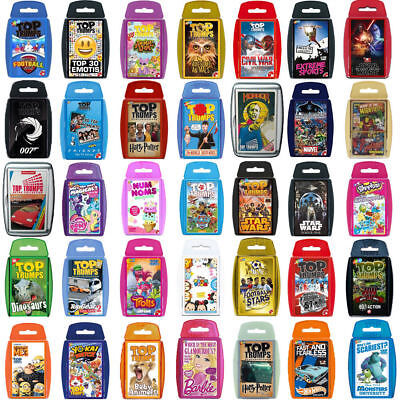 Top Trumps Card Games-Direct from the Manufacturer-Brand New Latest Editions
