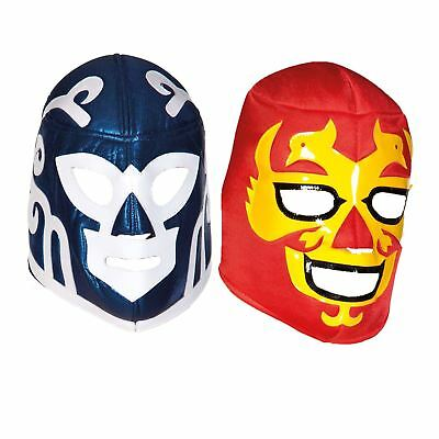 Adult Mens Mexican Wrestler Wrestling Mask WWE Libre Fight Fancy Dress Accessory