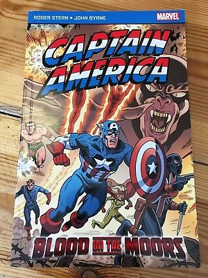Captain America: 'Blood on the Moors' Comic Book