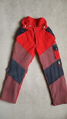 """Pfanner Stretch Air """"Extreme"""" chainsaw trousers M type A... RARE!"""