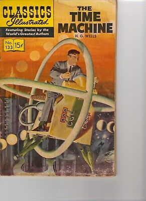 The Time Machine, Classics Illustrated; Number 133, July, 1956