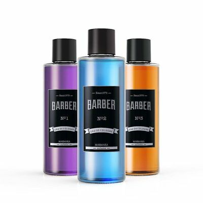 Marmara Barber Cologne- Glasflasche  500ml No.1, No2, No3 (100ml/2,70€)