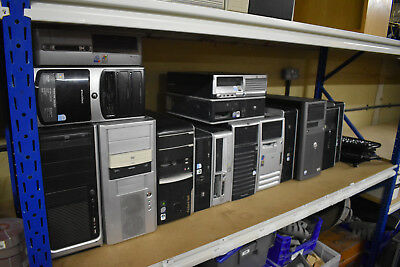 Joblot Computers / PC's Towers / Removed HDD's / Ideal Export 16 Units HP