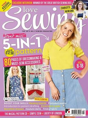 Love Sewing Issue 29 Magazine With Free 5 In 1 Multi-Garment Pattern  Simple Sew
