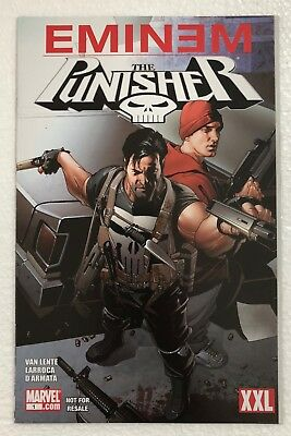 Eminem & The Punisher XXL Limited Edition Comic Book (Marvel, Super Rare! VHTF)