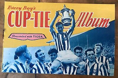 Every Boy's Cup Tie Album Presented With Tiger Magazine