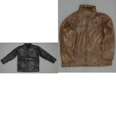 new Executive Division Mens Genuine Leather Year Round Coat Jacket