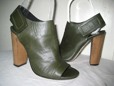 59ff47983d92 Vince Made In Italy Leather Open Toe Heel Sandals Shoes Women s Size 35   5  M