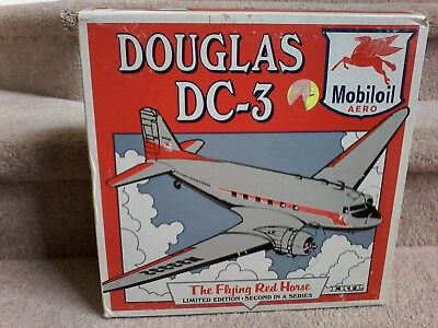 ERTL Collectibles Douglas DC-3 Mobiloil The Flying Red Horse 1:72 Scale