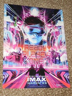 Ready Player One IMAX 13.5x18 Promo Movie POSTER