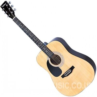 Falcon LFG100N Dreadnought Style Left-handed Acoustic Guitar Natural finish