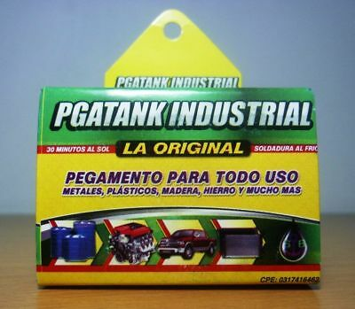 1 X Pegatanke Black Marine Epoxy Glue / Super Strong / Dries Underwater 50 Grm.!