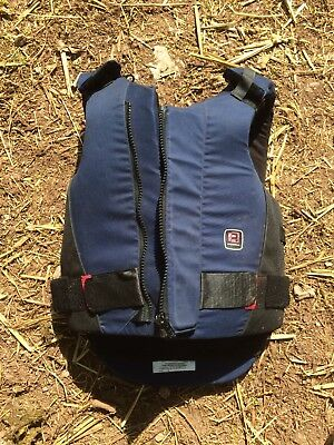 Rodney Powell Horse Riding Body protector/ Back Protector Adult Size 3