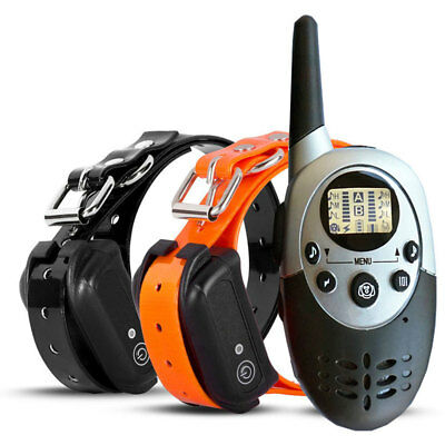 Dog Shock Collar With Remote Waterproof Electric Pet Training