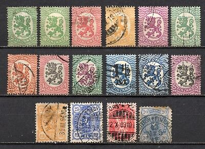 Finland nice mixed era collection,stamps as per scan(4419)