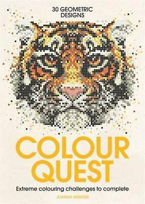 Colour Quest (Colouring Books), Webster, Joanna, New