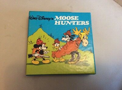 Walt Disney, Moose Hunters, Standard 8 B&w Film