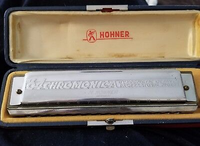 Hohner Chromonica 64  280-C 4 Chromatic Octaves Professional Model Harmonica