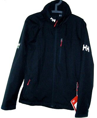 New Helly Hansen Authentic✿ Alive Crew Hooded Jacket DARK Navy Regular Fit Small