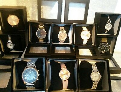 Job Lot Of 10 Spirit Designer Style Watches/ Mens/ladies/girls Party Gifts Boxes