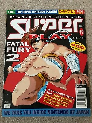 Super Play Magazine issue 19    superplay  snes super famicon