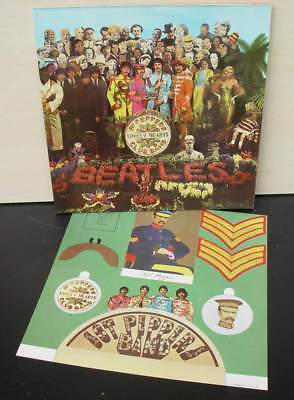 The Beatles Sgt.pepper's Lonely Hearts Club Band Lp Hörzu Emi  Shze 401