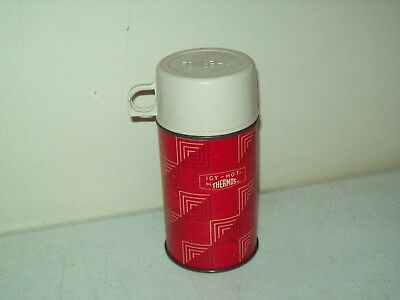 Thermos brand vacuum bottle 8 ounce Lunch Box size American made Icy-Hot 1960's