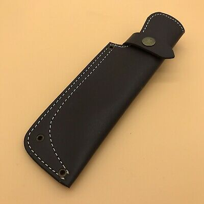 "AR9/ 9"" Custom Handmade Leather Sheath For 5""—6"" Cutting blade Knife."