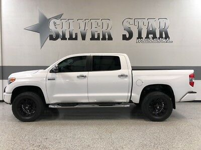 2014 Toyota Tundra  2014 Tundra Platinum 4WD V8 CrewMax GPS Leather AllPower Roof AC-STS 1TXowner