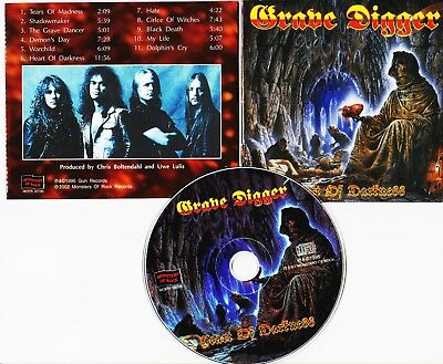 Grave Digger Heart Of Darkness New Cd Rmst Germany Import