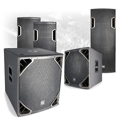 "CHOICE PD6 Active Powered Mobile DJ Disco PA Speaker Subwoofer 12""-18"" 400W-800W"