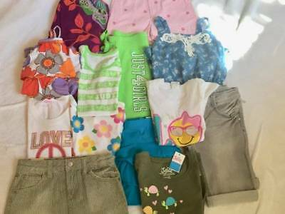 New Girls Size 6, 6-7 Summer Lot*justice*gap*carter's*shorts*skorts*tops