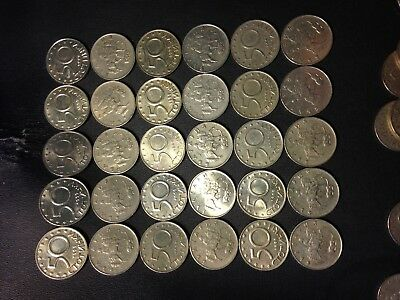 Old Bulgaria Coin Lot - 50 STOTINKI - 30 Excellent Uncommon Coins - Lot #518