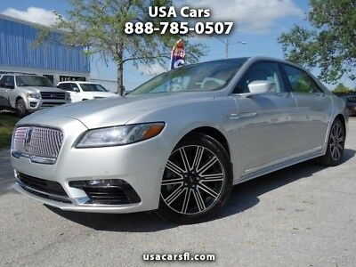 Lincoln Continental Reserve 2017 Lincoln Continent Reserve Turbo 2.7L V6 Navi Pano Roof Leather w/ heat&cool