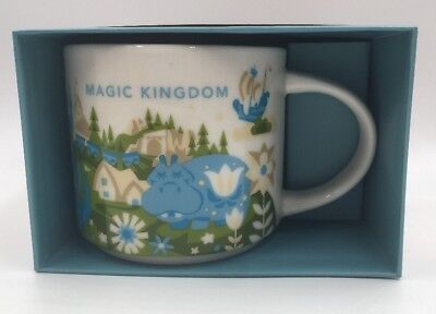New Disney Parks Magic Kingdom Starbucks Mug 2nd Version You Are Here