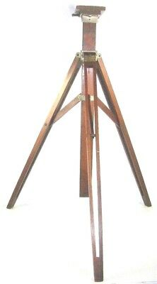 Antique Korona Folding Studio Stand Wooden Tripod Gundlach Manhattan Camera