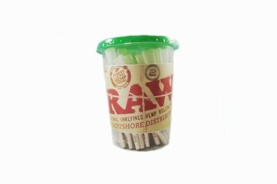 25 /Pack RAW Organic Hemp(Pre Rolled KING Size Cones)With free grinder