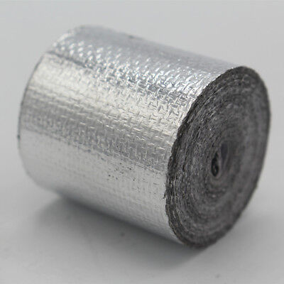"2""x15' Self Adhesive Reflect Silver Heat Wrap Barrier Protection Tape 15 Feet"