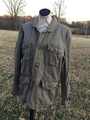 Converse One Star Mens Jacket**Sz L**Military Style**Hipster**Urban Street