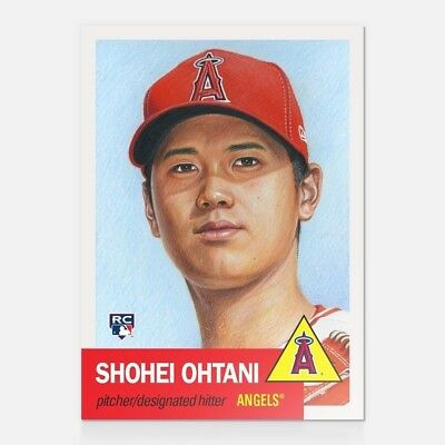 Shohei Ohtani RC 2018 Topps Now Living (#7) Los Angeles Angels ROOKIE SOLD OUT!