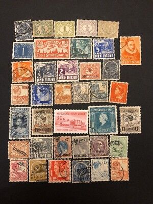 Netherland Indies Stamps- Lot A-60670