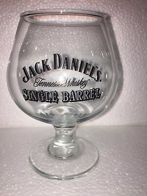 (1) Jack Daniel's Single Barrel Tennessee Whiskey Footed Snifter Glass