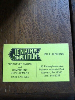 "Bill""grumpy""jenkins Competition Business Card"