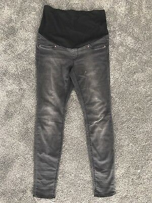 H&M 'MAMA' Maternity Skinny Jeans Size 14