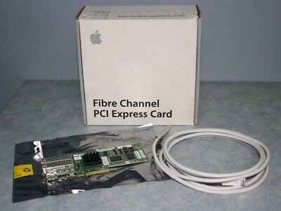 Apple MB842G/A Fibre Channel PCI Express Card 4Gbit Intel Mac Pro or Xserve