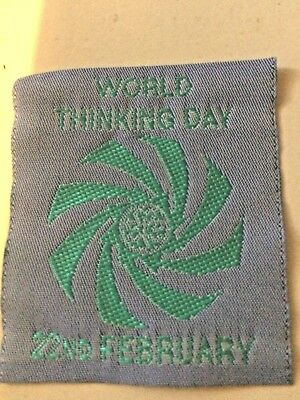 Girl Guides / Scouts Thinking Day