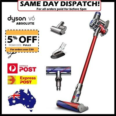 Dyson V6 ABSOLUTE Handstick Vacuum Cleaner - AUS STOCK - Free/Fast Dispatch