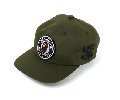 07e99d6a187 New A BATHING APE ATS PANEL CAP Busy works Olive Men s Auth from BAPE JAPAN  2018