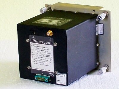 BALL EFRATOM M-100 rubidium atomic oscillator frequency reference standard 5 mhz